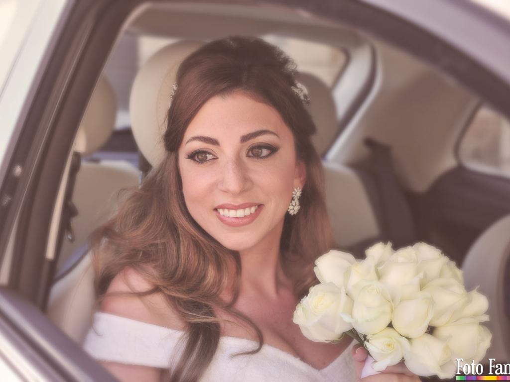 Sposa Arrivo in Auto