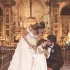 Sposi con valletta