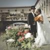 Sposi davanti Ponte Vecchio