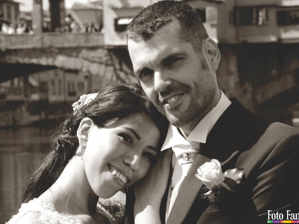 Sposi – Primo Piano Black&White