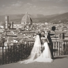 Panorama dal Piazzale Michelangelo in Black&White