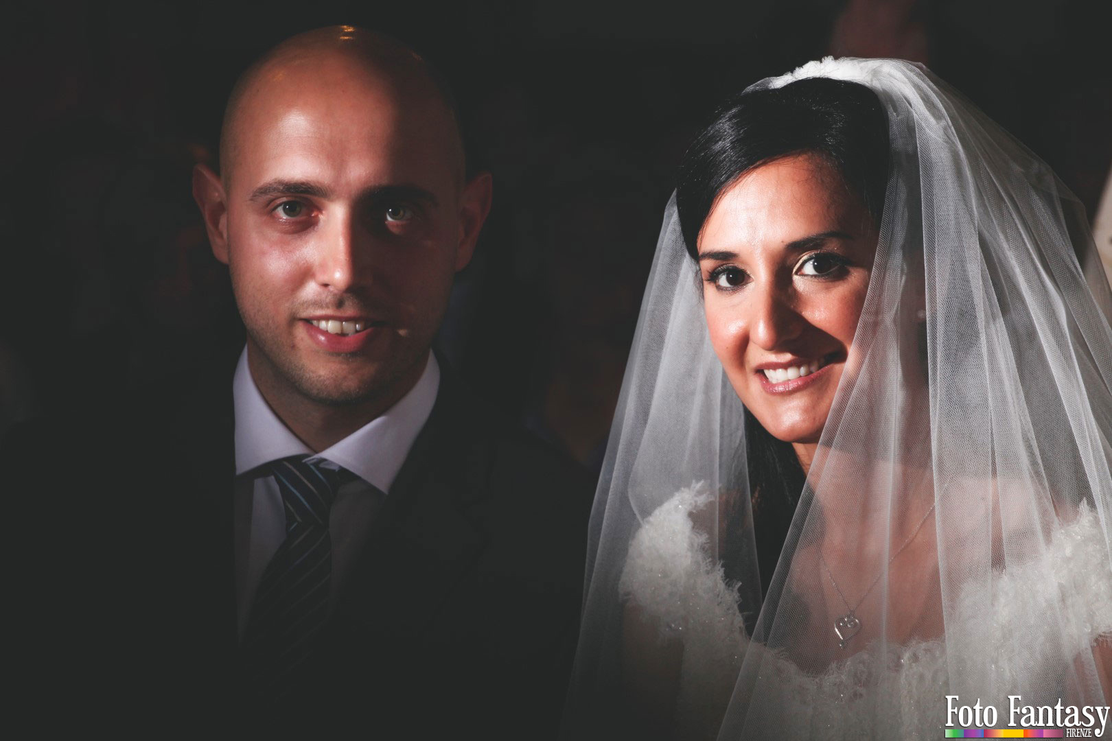 Servizio Matrimonio - Foto Fantasy Firenze - Sposi Ritratto